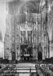 Winchester, Cathedral, Reredos 1893