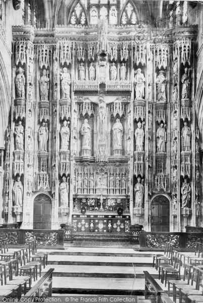 Photo of Winchester, Cathedral Reredos 1899