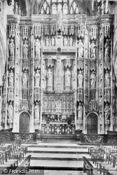 Winchester, Cathedral Reredos 1899