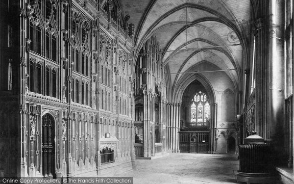 Photo of Winchester, Cathedral, South Choir Aisle 1909