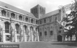 Winchester, Cathedral, South Side 1912