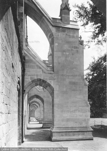 Photo of Winchester, Cathedral, South Side Buttresses 1912
