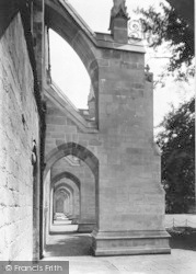Winchester, Cathedral, South Side Buttresses 1912
