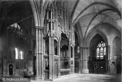Winchester, Cathedral, The Chantries 1911