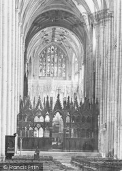 Winchester, Cathedral, The Choir Screen 1890