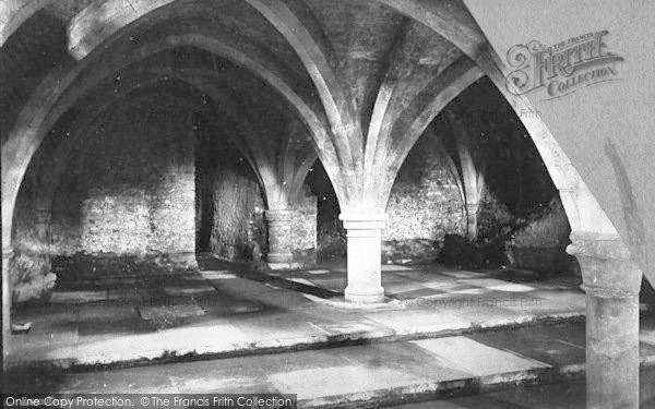 Photo of Winchester, Cathedral, The Crypt 1886