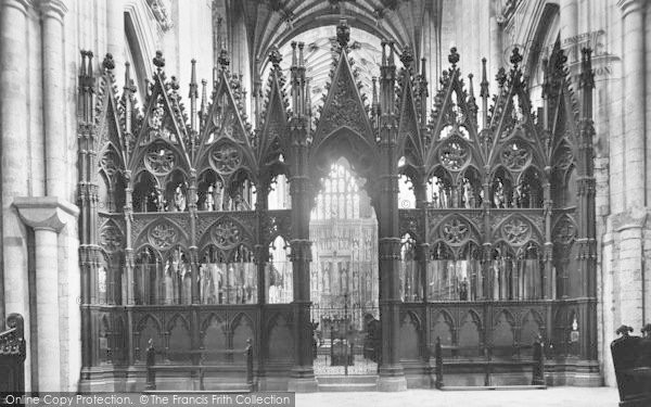 Photo of Winchester, Cathedral, The Screen 1912