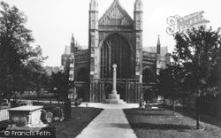 Winchester, Cathedral, West Front 1936