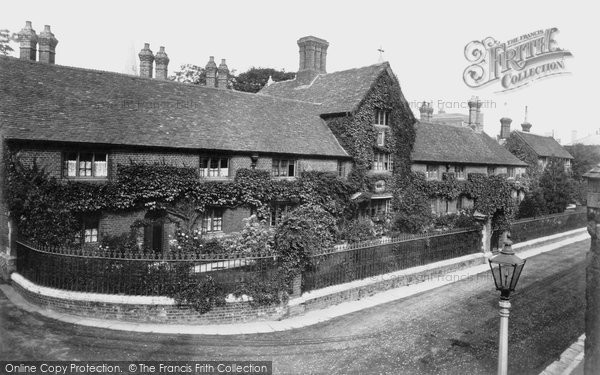 Photo of Winchester, Christ's Hospital 1911