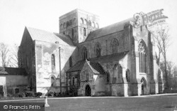 Winchester, Church Of St Cross 1886