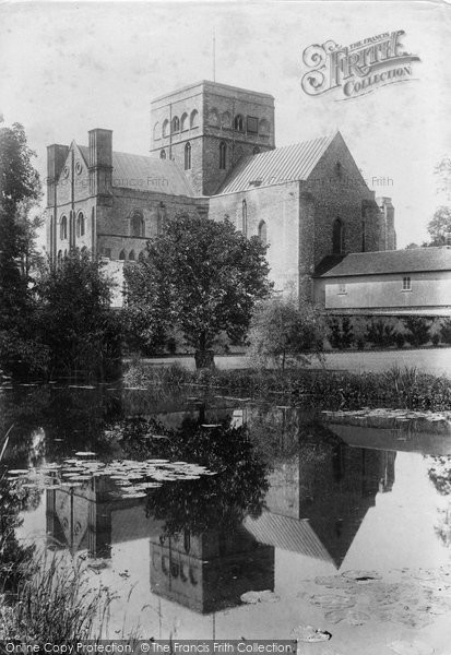 Photo of Winchester, Church Of St Cross 1906
