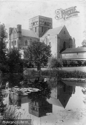 Winchester, Church Of St Cross 1906
