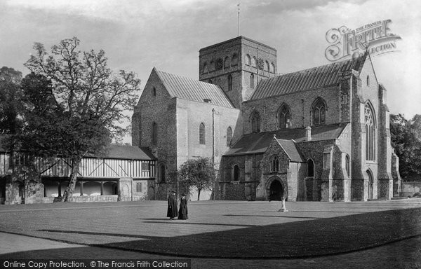 Photo of Winchester, Church Of St Cross 1919