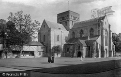 Winchester, Church Of St Cross 1919