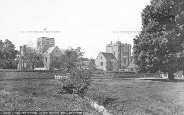 Photo of Winchester, Church Of St Cross And Beaufort Tower 1928