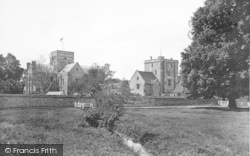 Winchester, Church Of St Cross And Beaufort Tower 1928
