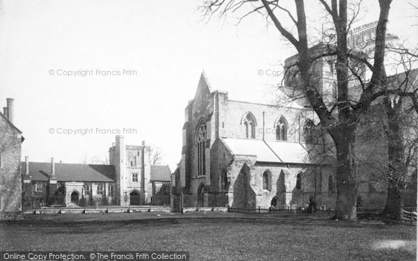 Photo of Winchester, Church Of St Cross And Hospital 1886
