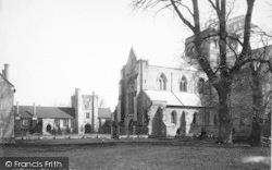 Winchester, Church Of St Cross And Hospital 1886