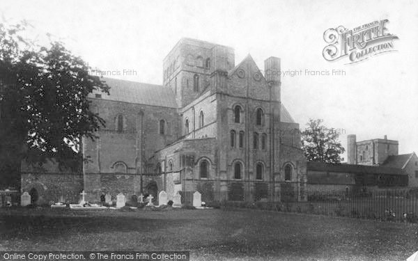 Photo of Winchester, Church Of St Cross, East End 1909