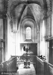 Winchester, Church Of St Cross, Lady Chapel 1896