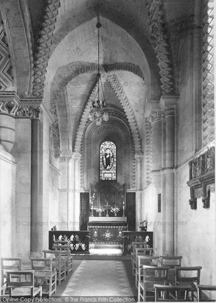 Photo of Winchester, Church Of St Cross, Lady Chapel 1909