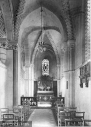 Winchester, Church Of St Cross, Lady Chapel 1909