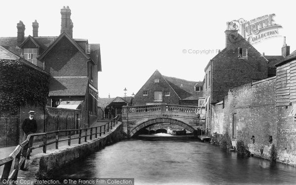 Photo of Winchester, City Bridge 1906