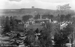 Winchester, College From The Cathedral 1929