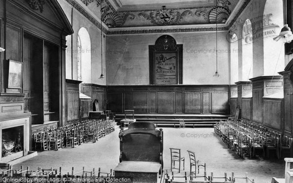 Photo of Winchester, College, School 1910