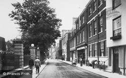Winchester, College Street 1919