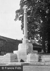 Winchester, County War Memorial 1922