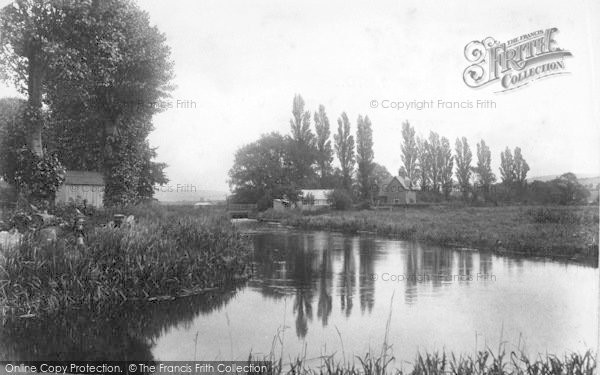 Photo of Winchester, Fishing Hut, River Itchen 1906