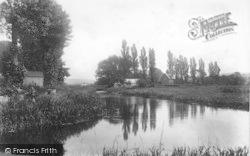 Winchester, Fishing Hut, River Itchen 1906