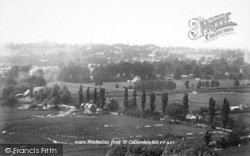 Winchester, From St Catherine's Hill 1899