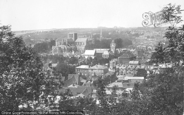 Photo of Winchester, From St Giles Hill 1899