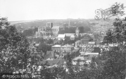 Winchester, From St Giles Hill 1899