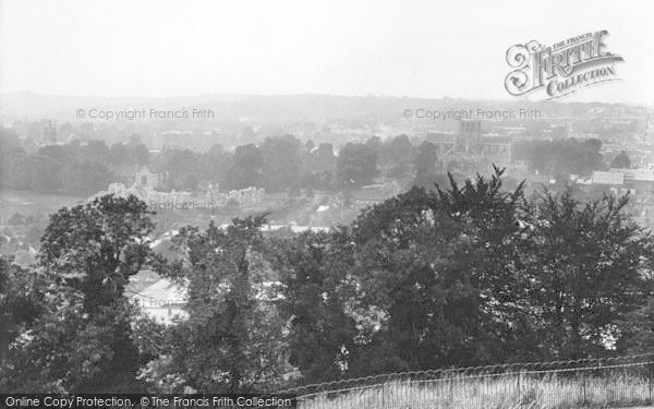 Photo of Winchester, From St Giles Hill 1923