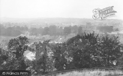 Winchester, From St Giles Hill 1923