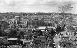 Winchester, From St Giles Hill 1929