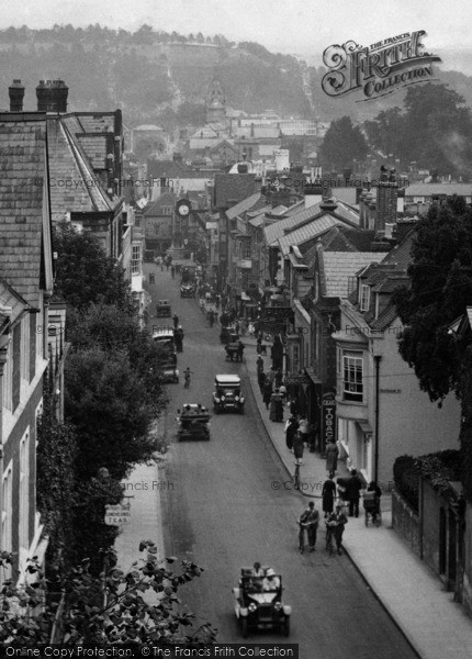 Photo of Winchester, From Westgate 1923