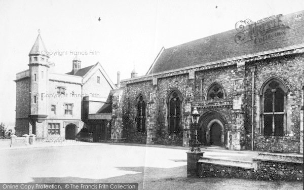 Photo of Winchester, Great Hall 1906