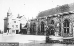 Winchester, Great Hall 1906