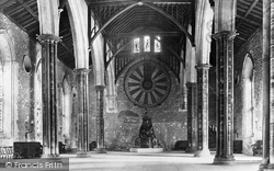 Winchester, Great Hall And The Round Table 1912