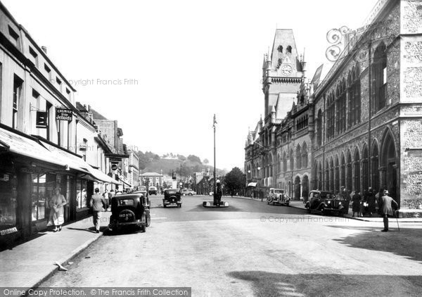 Photo of Winchester, Guildhall 1936