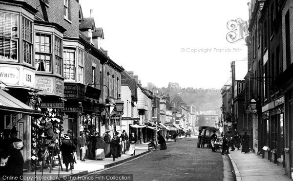 Photo of Winchester, High Street 1896