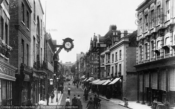 Photo of Winchester, High Street 1899