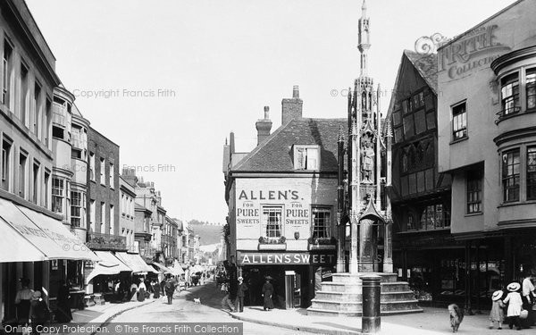 Photo of Winchester, High Street 1906