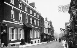Winchester, High Street 1909
