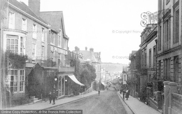 Photo of Winchester, High Street 1911