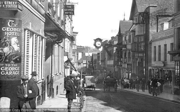 Photo of Winchester, High Street 1914